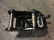 New Manual Backhoe Quick Hitch Coupler For John Deere 410e Includes Pins
