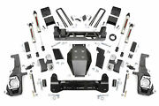 Rough Country V2 5 Lift Kit For 2011-2019 Chevy Gmc 2500 3500 Hd - 26070