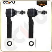 2pcs Front Outer Tie Rod Links Suspension Kits Es3459 For 1997-2004 2005 Buick