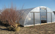 Quonset Greenhouse 24' X 24' - High Tunnel Cold Frame Kit - Free Shipping