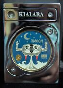 2017 Kialara To The Moon Silver Edition Physical Crypto Wallet Only 250 Made