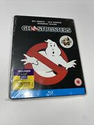 Ghostbusters Bluray Steelbook Uk Limited Ed. Sealed New