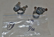 1972 Wittek 1 1/16 Tower Hose Clamps 4 Dated 3/72 Corvette Camaro Ford Mustang