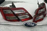 Update 10 13 14 15 16 17 18 Oem Ford Taurus Tail Lamps Taillights Set 2010-2018
