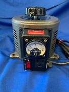 Tenma 72-110 Variable Auto Transformer 0-130v Output 10 Amps Max Working