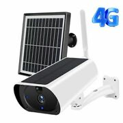 Camera Outdoor 3g 4g Solar Hd Wifi Battery Powered Wireless Security Ip Cam 2mp