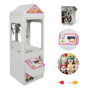 Mall Mini Claw Crane Machine Candy Toy Catcher Grabber Carnival Charge Play New