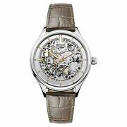 Ingersoll Ladies Vickers Automatic Skeleton Watch - I06302 New