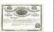 Douglass Copper Mining Co Of Blue Hills Maine.....unissued Stock Certificate