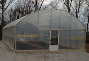 7.5and039 Sidewall Greenhouse 16and039 X 16and039 - High Tunnel Cold Frame Kit - Free Shipping