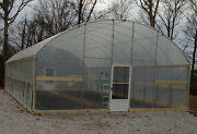 7.5and039 Sidewall Greenhouse 16and039 X 20and039 - High Tunnel Cold Frame Kit - Free Shipping