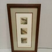 Bruce Langton Limited Edition Copper Plate Etching Print Yesterdayand039s Catch