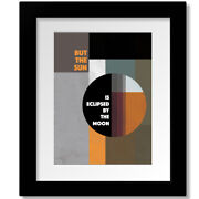 Eclipse By Pink Floyd - Song Lyric Inspired Rock Music Art Print Canvas Plaque