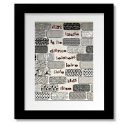 Another Brick In The Wall - Pink Floyd Song Lyric Music Print Canvas Or Plaque