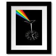 Classic Rock Music Lyric Inspired Art Print Canvas Plaque - Time By Pink Floyd
