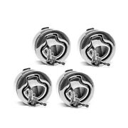 Southco M1-546 Flush Pull Stainless Steel Locking Boat Latch Set Of 4