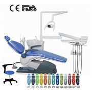 Portable Clinic Unit Chair Hard Leather Dc Motor Handpiece Computer Controlled