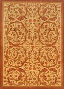 Hand-knotted Carpet 8'4 X 11'5 Traditional Wool Rug