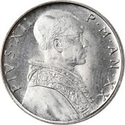 [906872] Coin Vatican City Pius Xii 50 Lire 1958 Roma Ms Stainless Steel