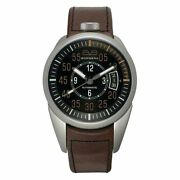 Bomberg Menand039s Automatic 1968 Watch Steel Brown 39
