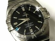 Omega Constellation Co-axial Chronometer Automatic Date Menand039s Watch Wl28395