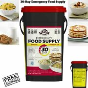 20 Lbs Emergency Food Survival Supply Prepper 30 Day Rations Kit Storage Bucket