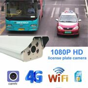 Ip Camera Wired 1080p Hd Outdoor Wifi License Plate Recognition Time Monitor Kit