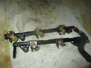 Yamaha 250hp 4 Stroke Outboard Fuel Rail With Injector Set 6p2-13160-00