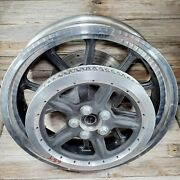 Harley-davidson Oem Sportster 883 Low And Super Low Cast Rear Wheel Rim And Rotors