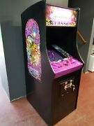 Multigame Video Arcade Machine Plays 60 Classic Games Ms Pacman Galagafrogger
