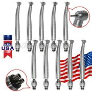 1-10 Kavo Style Dental High Speed Turbine Handpiece W/ Quick Coupler 4 Hole Vk
