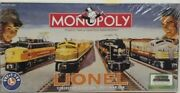 New Monopoly Board Game Lionel Trains Collectorand039s Edition Post War Era Sealed