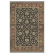 Mda Home Antique 10and039x14and039 Floral And Botanical Fabric Area Rug In Brown/red