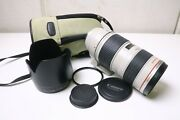 [sold As Is] Canon Ef 70-200mm F2. 8 L