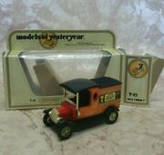 Matchbox Models Of Yesteryear 1912 Ford Model T Arnottand039s Biscuits Issue 1 New