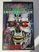 Hot Toys Mms33 Terminator T-800 Battle Damaged Endoskeleton-16 Scale-new In Box