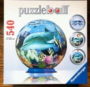 Ravensburger Puzzleball - Underwater World - 540 Pc Puzzle Ball - New In Wrap