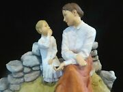 Sherratt And Simpson Large Figurine Blackberry Picking Mother And Daughter