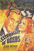 Mr. Deeds Goes To Town R1990s French Grande Poster