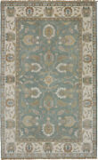 Vintage Hand-knotted Carpet 4and03910 X 7and03911 Traditional Oriental Wool Area Rug