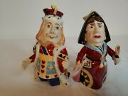 Dept 56 Candle Crown Snuffer King And Queen Of Hearts Alice In Wonderland