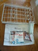 Ulike Roll-out Pull Lid Rack For 21cupboard Cabinet Opening Vinyl-coated Steel