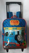 Gullane 2004 Thomas The Train Rolling Backpack Extended Handle