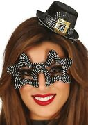 Mens Ladies Crazy New Years Eve Hat And Glasses Fancy Dress Costume Accessory