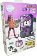 Vtech Kidizoom Childrens Kids Action Cam Camera 180 Video And Photo Purple - New