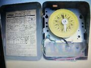 2e351a Dayton Time Clock 230 Volt With Trippers