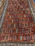 Antique Hand Knotted Shirvan Oriental Rug 104and039 X 3and039and0397and039 2745