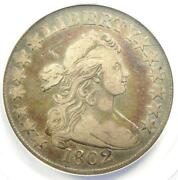 1802 Draped Bust Half Dollar 50c Coin - Certified Anacs Vf20 - Rare Date