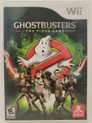Ghostbusters The Video Game Nintendo Wii, 2009 Free Shipping