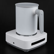 Coffee Mug Warmer Cooler Desktop Electric Heating Cooling Cup Mat For Home Of Us